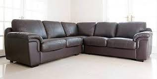 Black Leather Corner Sofa Faux Leather Corner Sofa In Black Or Brown Only 449 Sofas4less