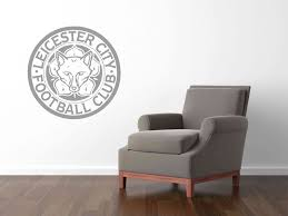 Wall Sticker Warehouse Leicester City Fc Wall Stickers For Fans Free Shipping Worldwide