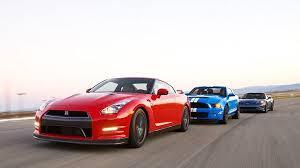 nissan gtr vs corvette z06 drag race nissan gtr vs corvette z06 vs shelby gt500 autotribute