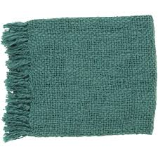 Deals On Home Decor by Emerald Green Throw Blanket