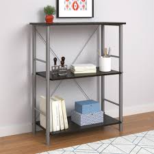 Mainstays 3 Shelf Bookcase Instructions Ameriwood Furniture Garrett 3 Shelf Bookcase Espresso
