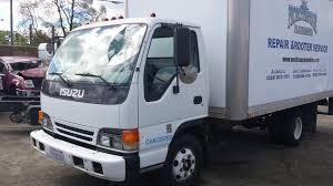 mitsubishi truck 2000 parting out 2000 isuzu npr turbo diesel box truck subway truck