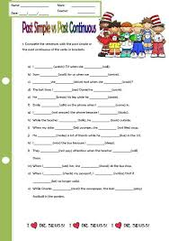 past continuous worksheet free worksheets library download and