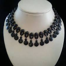 black fashion jewelry necklace images Best costume jewelry 1950s 1960s products on wanelo jpg