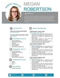 Free Infographic Resume Templates One Page Resume Template Free Resume Template And Professional