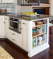 kitchen bookshelf ideas best 25 microwave in island ideas on