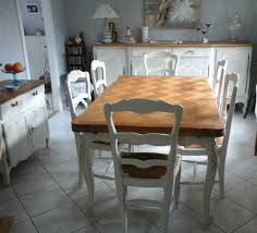 Table Salle A Manger Rustique by Impressionnant Relooking Salle A Manger Rustique Et Relooker Une