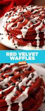 best red velvet waffle recipe how to make red velvet waffles