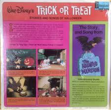 walt disney u0027s trick or treat halloween album with the haunted