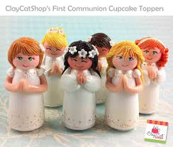 communion cake toppers claycatshop s cake toppers holy communion