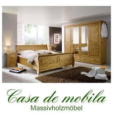 gebraucht schlafzimmer komplett schlafzimmer roland ii kiefer massiv honigfarben lackiert