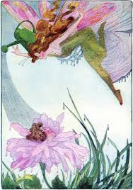 vintage garden fairy image the graphics fairy