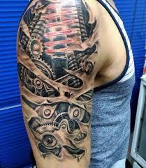 tattoo 3d mechanical tattoos design ideas 32 best realistic 3d tattoos design ideas for