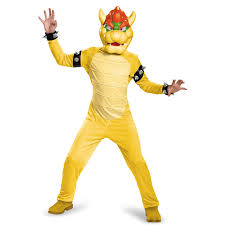 Mario Halloween Costumes Girls Buy Super Mario Bros Deluxe Bowser Costume Kids
