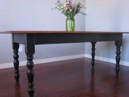 Black Farmhouse Table European Paint Finishes Black Farmhouse Table