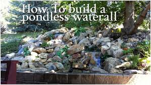 Backyard Waterfall Ideas Backyards Gorgeous Diy Backyard Waterfall Diy Backyard Fountains