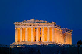 acropolis by night athens greece playbull com beautiful places