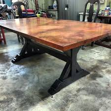 Best Copper Table Images On Pinterest Copper Table Houston - Copper kitchen table
