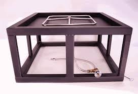 Outdoor Gas Fire Pit Kits by Custom Square Fire Pit Kit 27