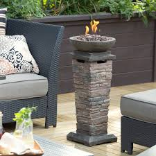 Gas Fire Pit Bowl Red Ember Fire Pits Backyard U0026 Garden Hayneedle