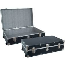 Jewelry Armoire With Lock And Key Mercury Luggage Seward Underbed Trunk Duffels U0026 Suitcases