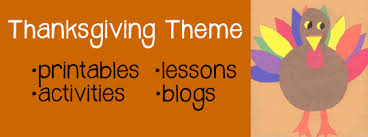 theme ideas thanksgiving activities lessons and printables a to z