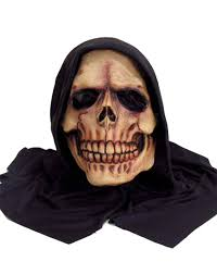 hooded reaper scary costume mask costume craze