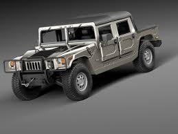 jeep hummer conversion 3d highpoly hummer hx concept