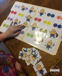minion contraction words game