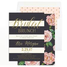 bridal shower brunch invitations brie bridal shower brunch invitation blush pink roses grey