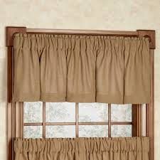 burlap soft cotton window treatment