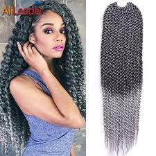 Braid Hair Extensions by Aliexpress Com Buy Alileader Bounce Curl Crochet Braid Hair