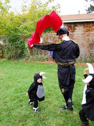 Family Halloween Costumes With A Baby Show And Tell Baby Bulls And Matador Costumes Rae Gun Ramblings