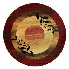 floors u0026 rugs border red modern round area rugs for contemporary