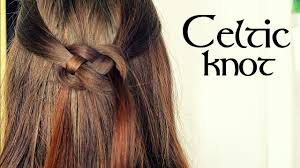 celtic wedding hairstyles celtic knot hair tutorial youtube