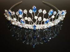 tiaras uk blue wedding tiaras and headbands ebay
