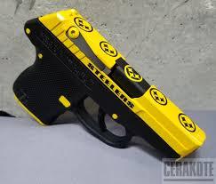 black and yellow corvette cerakote coatings gallery detail
