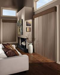 Contemporary Window Treatments For Sliding Glass Doors by Patio Or Sliding Doors Ruffell U0026 Brown Window Fashions
