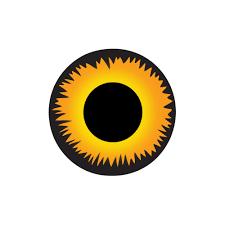 contacts lenses halloween mesmereyez halloween contact lenses xtreme orange wearewolf