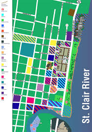 Southwest Michigan Map by St Clair On The River Things To Do In St Clair Mi Maps Of