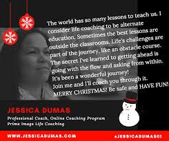 merry christmas jessica dumas prime image coaching
