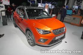 seat arona showcased at iaa 2017 live
