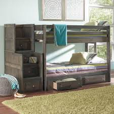 Bunk Bed Storage Coaster Wrangle Hill Full Over Full Bunk Bed With Under Bed