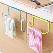 online get cheap kitchen cabinets organizer aliexpress com home wider towel rack hanging holder organizer bathroom kitchen cabinet cupboard hanger drop shipping high quality