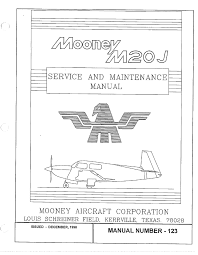 service and maintenance manual m00ney aircraft