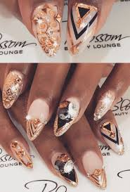 214 best nails gold images on pinterest make up coffin nails