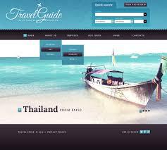 Traveling Websites images Website template 41508 travel guide world custom website template jpg