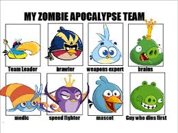 Angry Birds Meme - my angry birds apocalypse team by ukrainianwatcher on deviantart