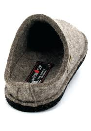 ladies bathroom slippers turf haflingerar wool felt slippers flair