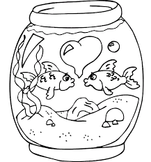 coloring pages about fish free printable fish coloring pages for kids beneficial care bear